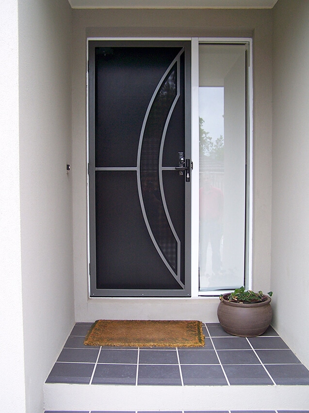 Metal Arch Security Doors