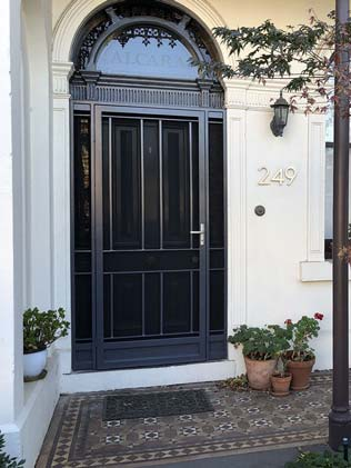 Steel Security Doors Melbourne The Superior Door Company